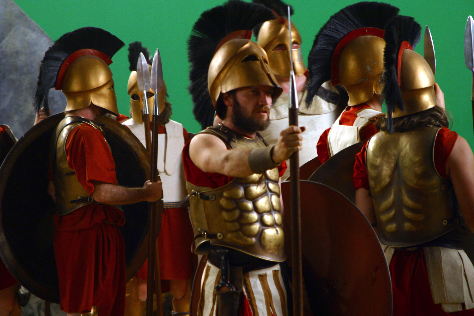 Kevin Moran in Last Stand of the 300